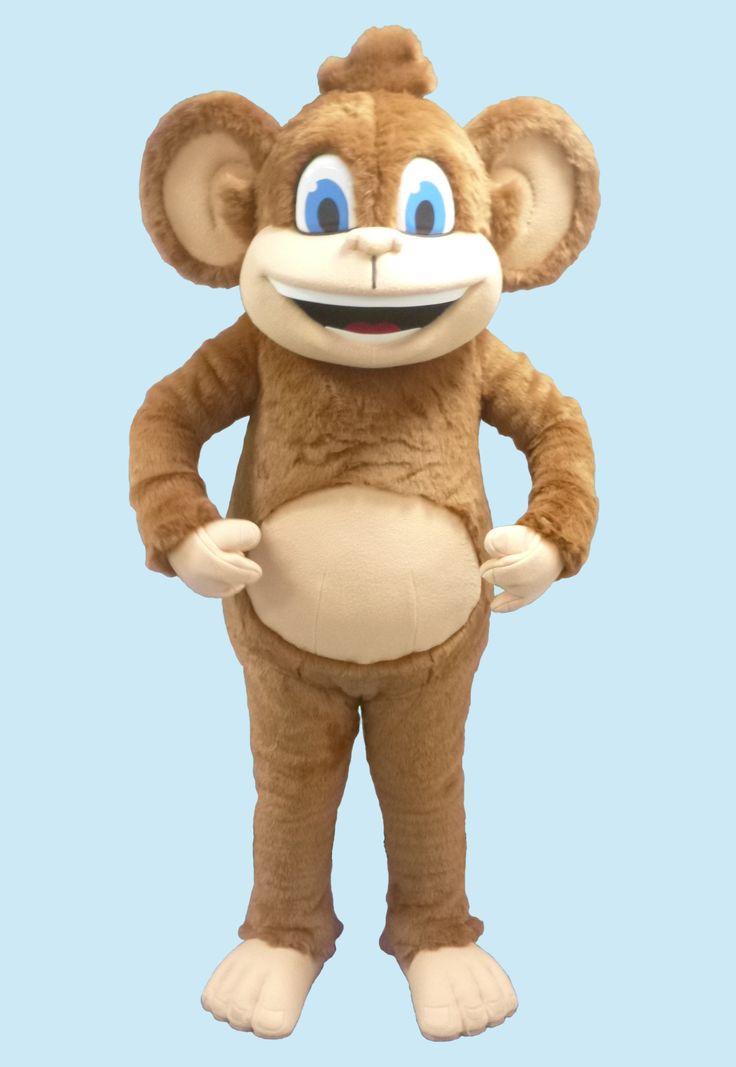Safari Monkey #mascot #costume #character #safari #monkey