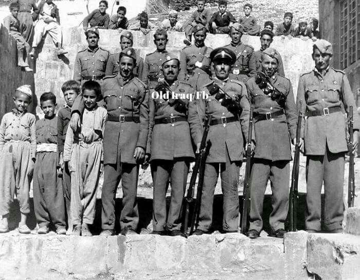 شرطة العراق في اربيل سنة 1942