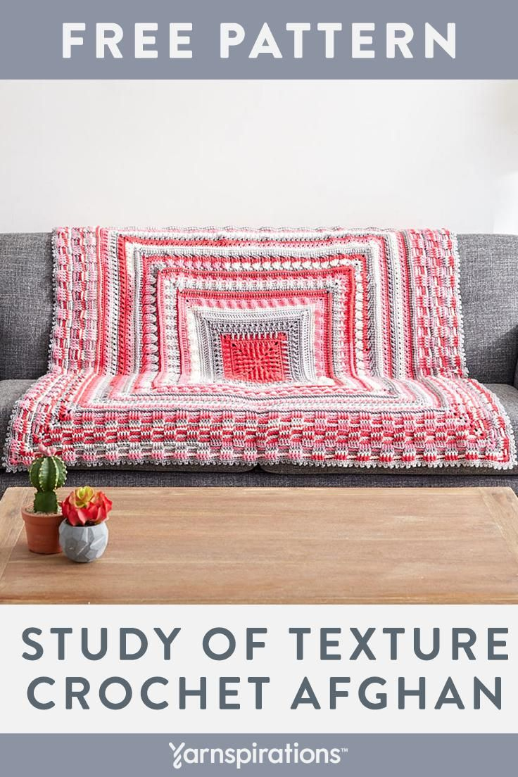 This free crochet blanket pattern designed by The Crochet Crowd puts