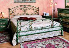 140x200 ELLA Metallbett Himmelbett Doppelbett Metall Designer Bett Luxus T2