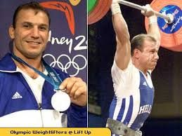 Viktor Mitrou  is a retired male Greek weightlifter. He initially represented Albania, but became internationally distinguished with the Greek National Team. Mitrou won Silver Medal for Greece in the 2000 Summer Olympics.