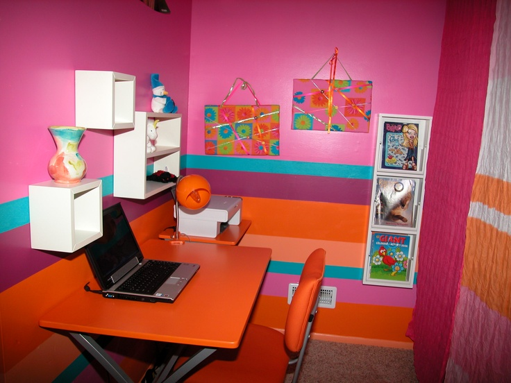 17 Best Images About Pink And Orange Rooms On Pinterest