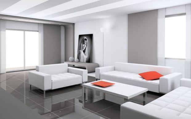 Ultra Modern Living Room - Designing Ideas
