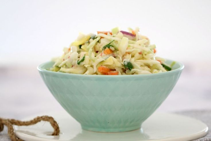The most deliciously creamy Thermomix Apple Coleslaw.