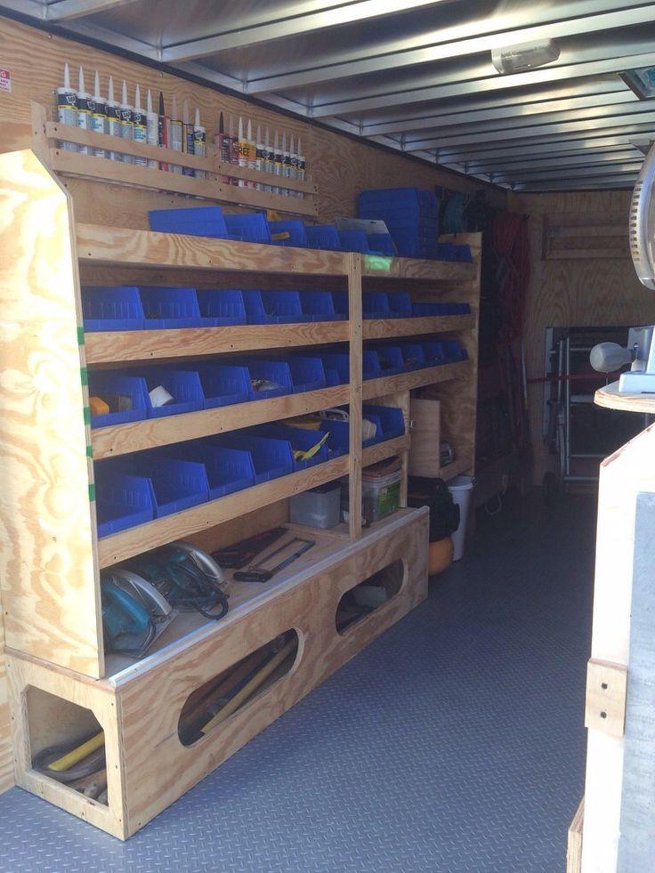 Best 25 van racking ideas ideas on pinterest van for L interieur trailer