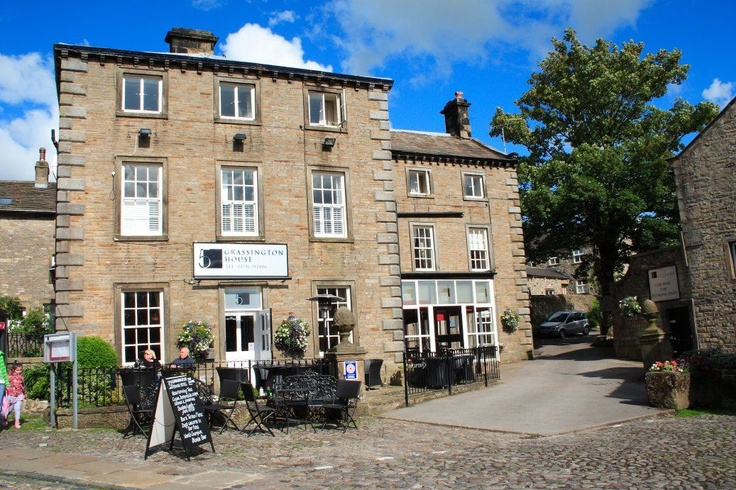 Grassington House Hotel exterior but its inside you need to visit for the food heaven, this is a hidden Yorkshire Dales Gem