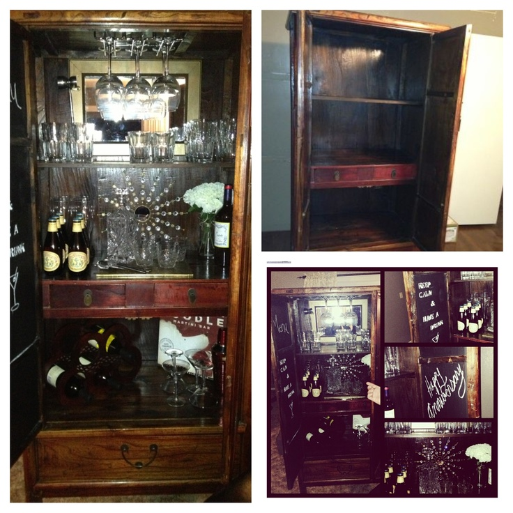 17 Best Bar Ideas And Dimensions Images On Pinterest: 17 Best Images About Armoire Bar Ideas On Pinterest