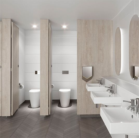 Cleanflush caroma specify bathrooms pinterest for New washroom designs