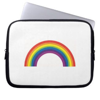 Rainbow Neoprene Laptop Sleeve
