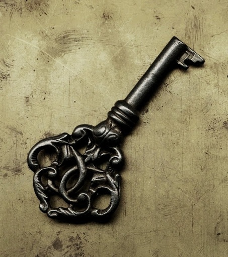 LOVE this old key