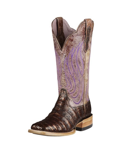 Women's Nitro Caiman Belly Boot - Coppered Chocolate/Violet Tan.  These boots are amazing and Ariats are so comfortable.  Would love to own these.