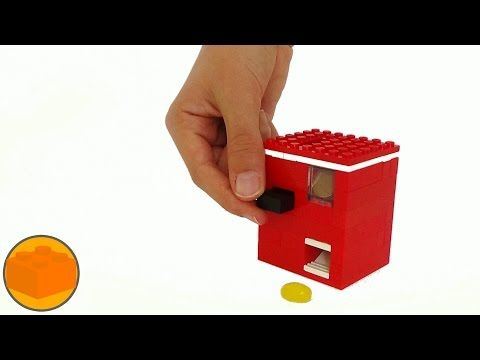 how to make a easy lego candy machine