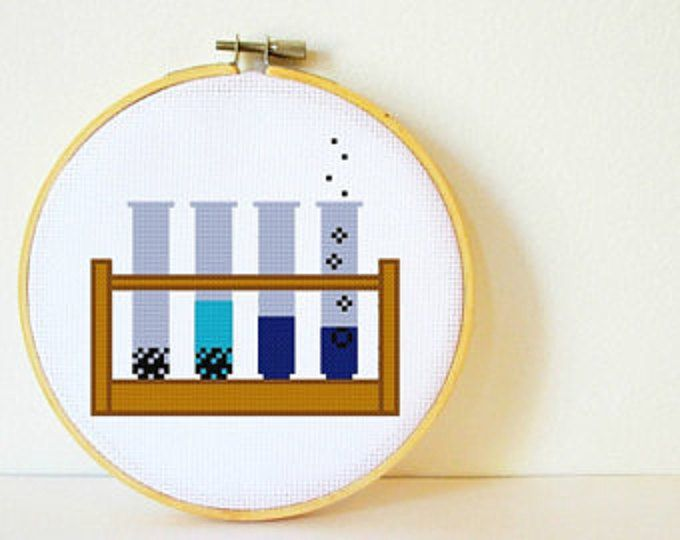 Multi-buy special: Get a 4th Pattern for FREE!! To order put 4 patterns in your cart and enter the code FreePattern at checkout. Your total will be automatically adjusted. :)     A cross stitch pattern for the molecular structure of caffeine. Perfect for nerds with a serious coffee habit! This is fun and quick, a great pattern to stitch for yourself or as a gift. Its also really easy to swap the colours to suit any colour scheme youd like.    Skill level: Beginner.    Size: Fits in a 6 inch…