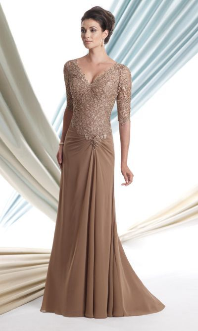Another MOB dress  Montage 113906 Formal Dress with Lace Sleeves image