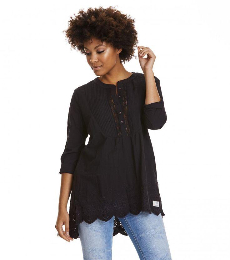 Odd Molly revival l/s blouse. Str 3/4