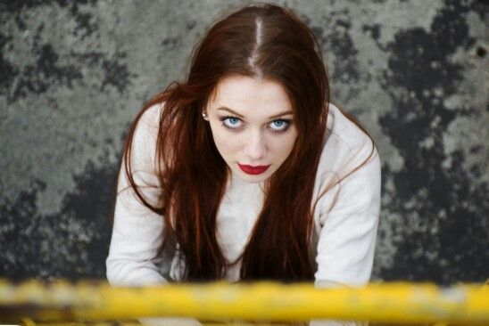 #eyes #yellow #girl #red #portait #beautiful