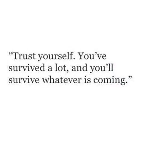 quote, trust, and life-bilde