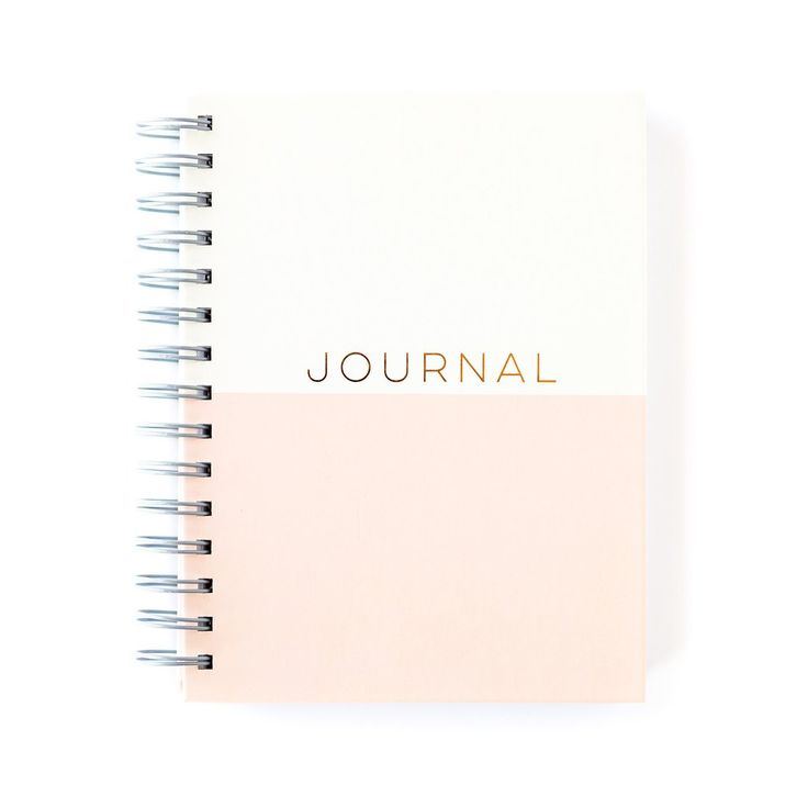 "Spiral bound notebook with rose gold foil finishes. Inside and covers are printed with matching designs. 6"" x 8"" with 100 lined pages.                                                                                                                                                                                 More"