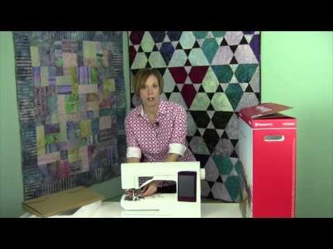Husqvarna Viking Designer Ruby 1 Introduction & Unboxing - YouTube