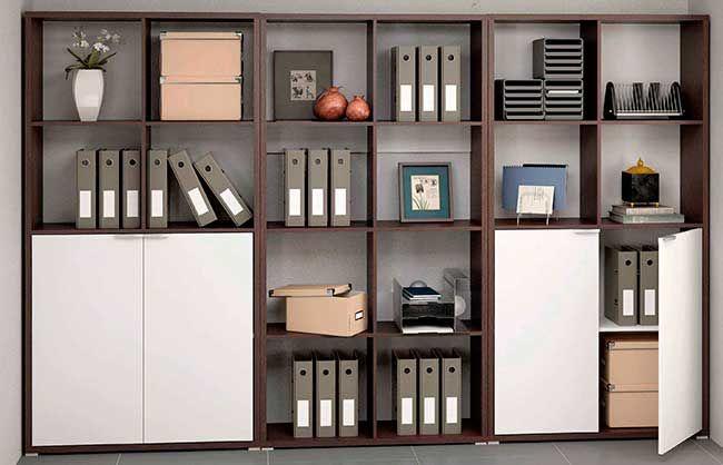 Las 25 mejores ideas sobre organizaci n de la oficina de for Armarios para despachos