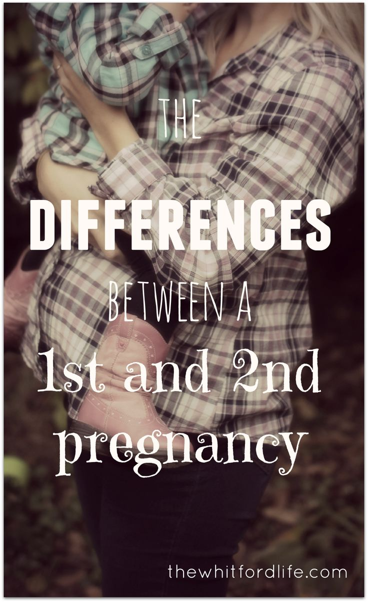 The differences between first and second pregnancy. It's not just the weight gain... www.thewhitfordlife.com