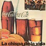 Clásico poster de Coca Cola.