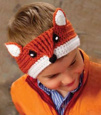 Download Fox Headband Crochet Pattern (FREE)