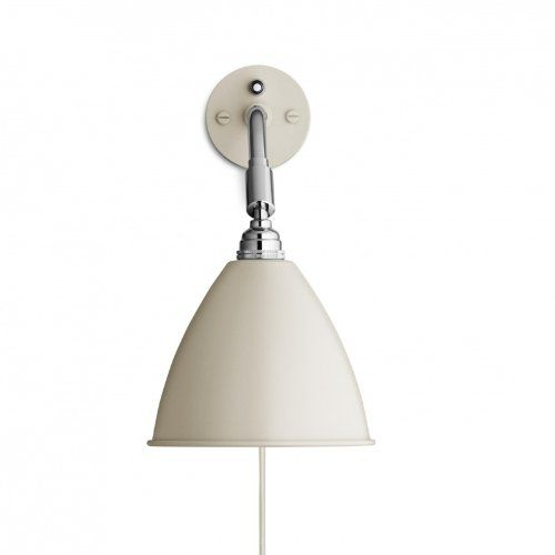 Bestlite BL 7 Wall Lamp white/brass/matt: Amazon.co.uk: Lighting