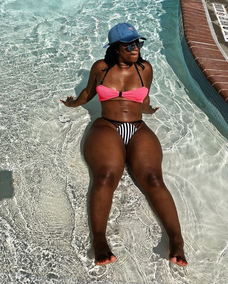 Nude black girl thick hips