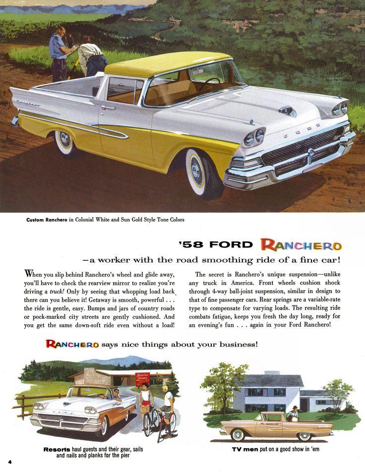 1958 Ford Ranchero