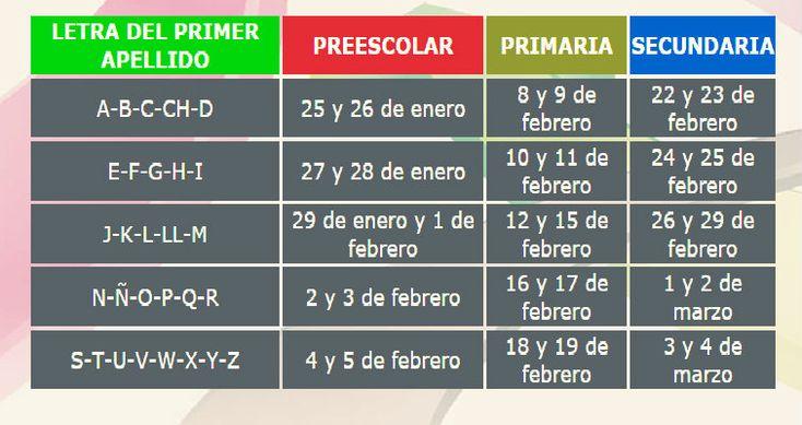 calendario-de-preinscripciones-preescolar-primaria-y-secundaria