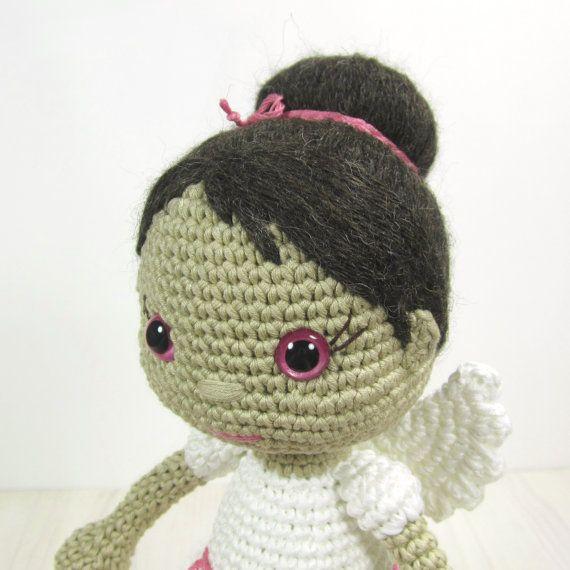Angel En Amigurumi : 371 best images about crochet angel on Pinterest Free ...