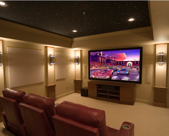 Love This Washington DC Are Home Theater. Stars Shining Above And All.