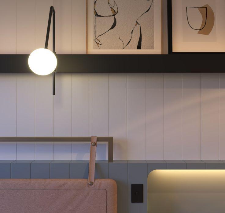 Scott Carver concept design micro-hotel room Fifteen