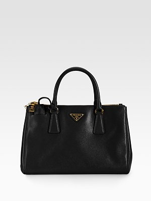 Prada Medium Sized Saffiano Lux tote.  I cannot wait to buy you at the duty free prada boutique!!