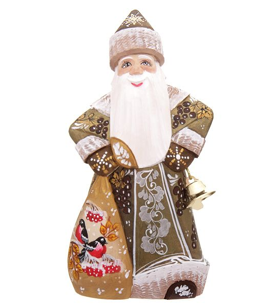 Russian wooden Ded Moroz