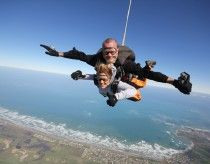 Sky Dive the coast, South Australia: What better way to see the beauty of the Fleurieu than from jumping out of a plane. Perfect for adrenalin junkies!