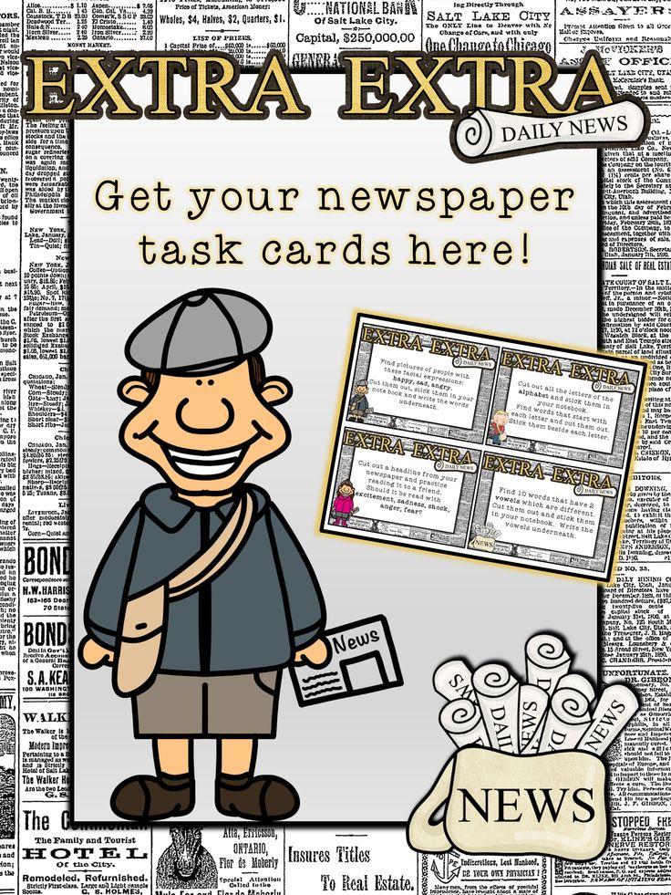 Freebies in newspapers