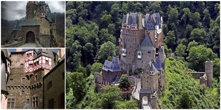 Eltz Castle: Оne of the most famous fortresses in Germany owned by the Eltz family for over 800 years