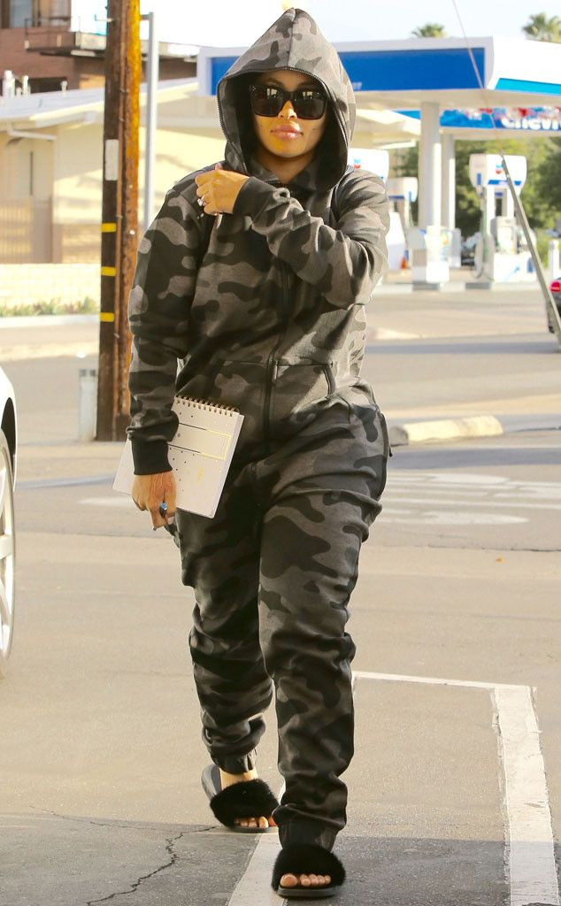 Blac Chyna from The Big Picture: Today's Hot Pics  Spa day! The reality star is seen during a trip to the nail salon in L.A.