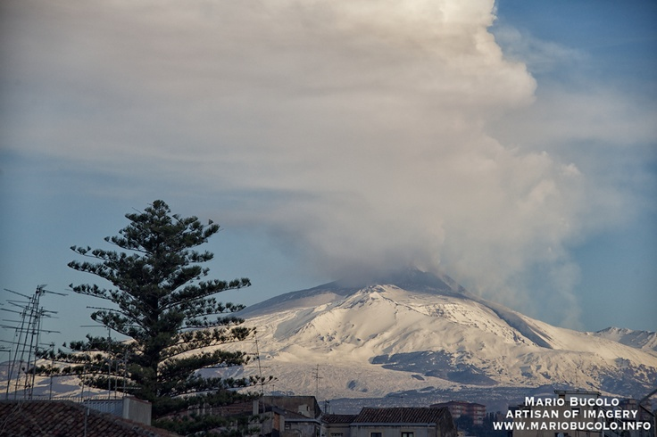 Mt. Etna eruption, 8 feb 2012