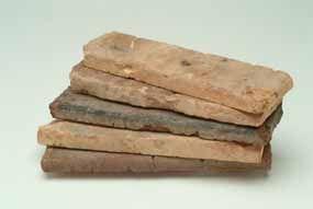 brick veneer tiles - to make those beautiful brick walls without having to install actual thick bricks..