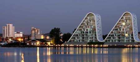 The Wave in Vejle by Henning Larsen Architects.
