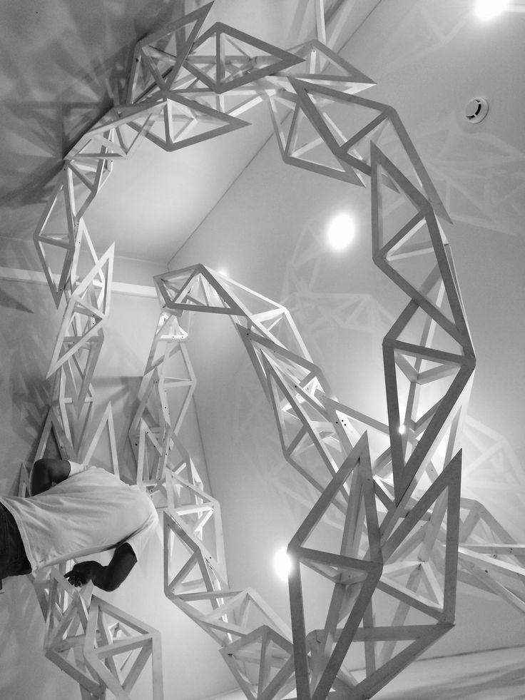"""""""МЯТА"""". Студия красоты. Проект: www.poletovarchitects.ru Монтаж: Василий Полётов, Иоаким Харитонов Производство деталей: www.workingang.pro"""