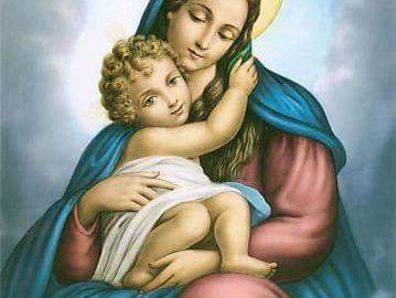 """""""A las almas que en vida Me hayan saludado con esta Oración, Me apareceré con gran resplandor en la hora de la muerte. Además, cuando el alma se separe del cuerpo, Me manifestaré con hermosura tan espléndida, que el alma sentirá un gran consuelo. En ese instante, experimentará algo semejante a lasdelicias del Paraíso."""" (Palabras de la Santísima Virgen a Santa Gertrudis) ¡Ave, María! ¡Blanco Lirio de la Gloriosa y siempre Serena Trinidad! ¡Salve, Brillante Rosa del Jardín de los Deleites…"""