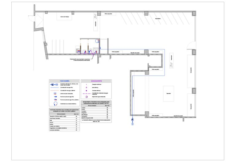 Adecuaci n de local para taller de reparaci n y venta de for Hacer plano vivienda