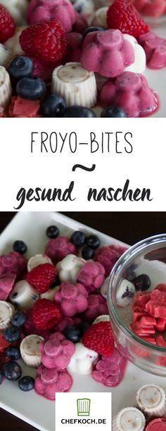 FroYo-Bites – Frozen Yogurt im Mini-Format