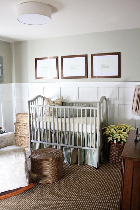 Simple Nursery Ideas Neutral White Cribs