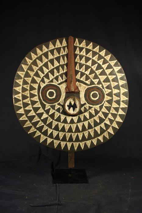 Masque de soleil africain - BWA - Burkina Faso
