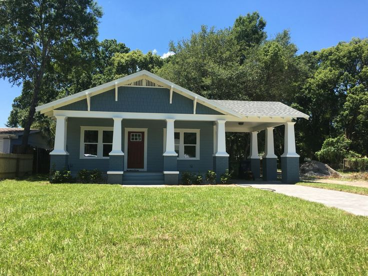 26 best tampa bungalow homes for sale images on pinterest for Craftsman homes for sale in florida
